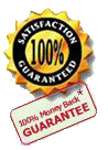 100 Percent Money Back Guarantee on all Health Insurance Plans
